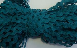 Декоративная тесьма Вьюнчик. Цвет 140 (морской волны)