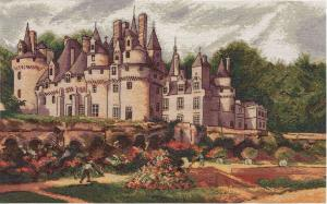 Панна | Замок Юссе. Размер - 44 х 27 см.