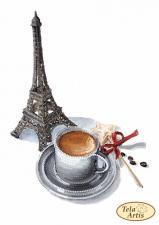 Мечтательный кофе. Размер - 17 х 24 см.