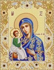 Иерусалимская икона Божией Матери. Размер - 18 х 23 см.