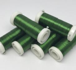 Проволока для бисера (зелёный).