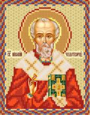 Святой Николай Чудотворец. Размер - 13 х 16 см.