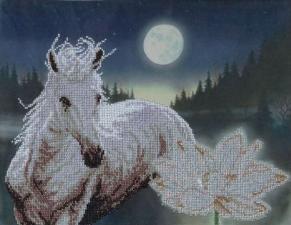 Лунная соната. Размер - 37,3 х 29 см