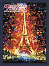 """Картина стразами (набор) """"Париж"""". Размер - 50 х 70 см."""