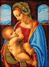 "Сокровище живописи ""Мадонна Литта"". Размер - 20 х 27 см."