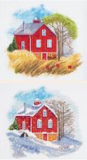 Панна | Времена года:Осень,Зима. Размер - 18 х 39 см.