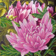 """Схема для вышивки бисером """"Розовый лотос"""". Размер - 20 х 20 см."""