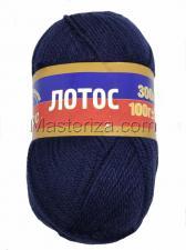 Камтекс | Пряжа Лотос (100% акрил, 100 г/300 м),173 синий