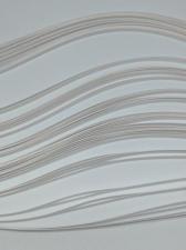 Бумага для кручения (металлик ледяной жемчуг). Размер 3 мм