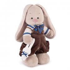 Зайка Ми Бархатный Шоколад, мягкая игрушка BudiBasa