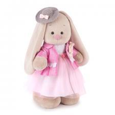 Зайка Ми Розовый бутон, мягкая игрушка BudiBasa, 25 см