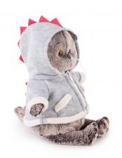 Кот Басик в толстовке дракончик, мягкая игрушка BudiBasa