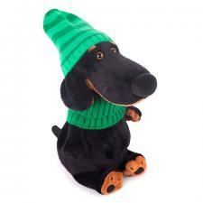 Ваксон в зелёной шапке и шарфе, мягкая игрушка Budi Basa