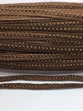 Тесьма Самоса,12 мм,цвет 314 (коричневый)