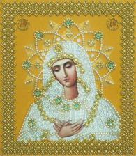 Картины бисером   Икона Умиление (золото).