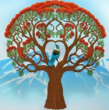 "Набор Olanta (стиль Rococo) ""Дерево жизни"". Размер - 21 х 20 см."