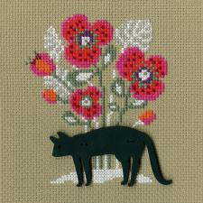 РТО | СВЕ9004 Кошка. Размер - 9 х 11 см.
