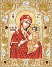 Иверская икона Божией Матери. Размер - 14 х 18 см.