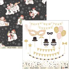 "Бумага для скрапбукинга ""Новый год"",2800880012296"