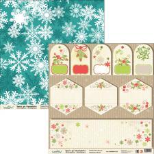 "Бумага для скрапбукинга ""Новый год"",2800880012128"
