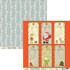 "Бумага для скрапбукинга ""Новый год"",2800880012135"