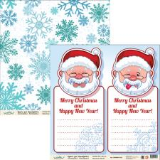 "Бумага для скрапбукинга ""Новый год"",2800880012234"