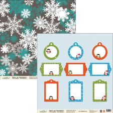 "Бумага для скрапбукинга ""Новый год"",2800880012166"