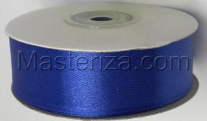 Лента атласная Синий 25 мм