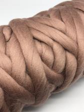 Камтекс | Супер толстая пряжа, цвет 113 (какао), 500 г/40м