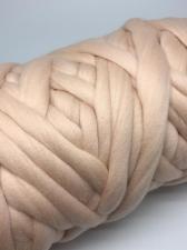 Камтекс | Супер толстая пряжа, цвет 151 (персик св.), 500 г/40м