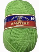 Пряжа Аргентинская шерсть. Цвет 026 (салатовый)