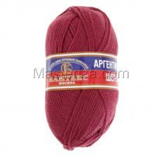 Пряжа Аргентинская шерсть. Цвет 088 (брусника)