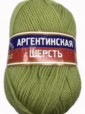Пряжа Аргентинская шерсть. Цвет 189 (фисташковый)