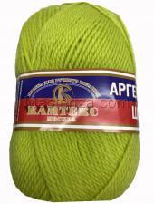 Пряжа Аргентинская шерсть. Цвет 202 (цитрон)