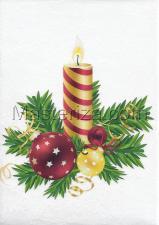 "Фетр с рисунком ""Новый год"", арт.NG-121, 19х28 см"