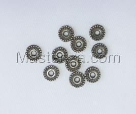 Бусины металлические (бронза),КМ114,10 шт
