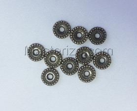 Бусины металлические (бронза),КМ116,10 шт