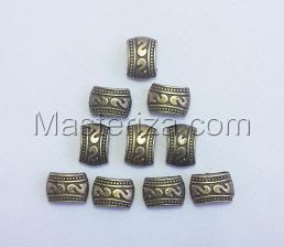 Бусины металлические (бронза),КМ118,10 шт
