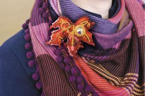 """Набор для вышивки бисером украшения на натуральном художественном холсте """"Капелька солнца"""""""