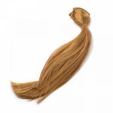 """Трессы прямые """"Элит"""" цв. русый,длина волоса 30 см,длина тресса 45 см (2 шт)"""