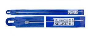 """""""Gamma"""" Крючок для тунисского вязания с ограничителем SH1, d 2.5 мм"""