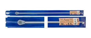 """""""Gamma"""" Крючок для тунисского вязания с ограничителем SH1, d 5.5 мм"""