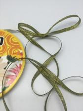 Лента атласная с люрексом,Skroll,6 мм,цвет №039
