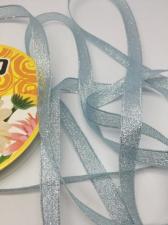 Лента атласная с люрексом,Skroll,12 мм,цвет №068
