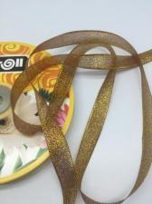 Лента атласная с люрексом,Skroll,12 мм,цвет №074