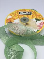 Лента атласная с люрексом,Skroll,25 мм,цвет №171