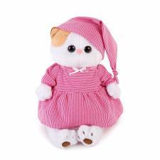 Кошечка Ли-Ли в розовой пижамке, мягкая игрушка BudiBasa