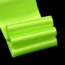 Лента атласная,75 мм,IDEAL,цвет 3033 салатовый
