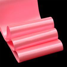 Лента атласная,75 мм,IDEAL,цвет 3077 розовый