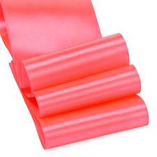 Лента атласная,75 мм,IDEAL,цвет 3079 яр.розовый